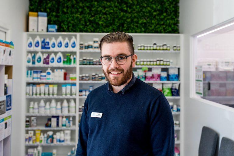 Meet Pharmacy Assistant Bryan Hann