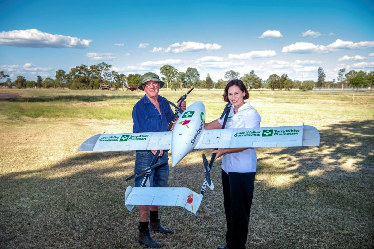 Drone project to make medicines more accessible