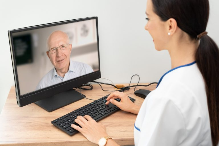 Tele-tech solution for mental health care