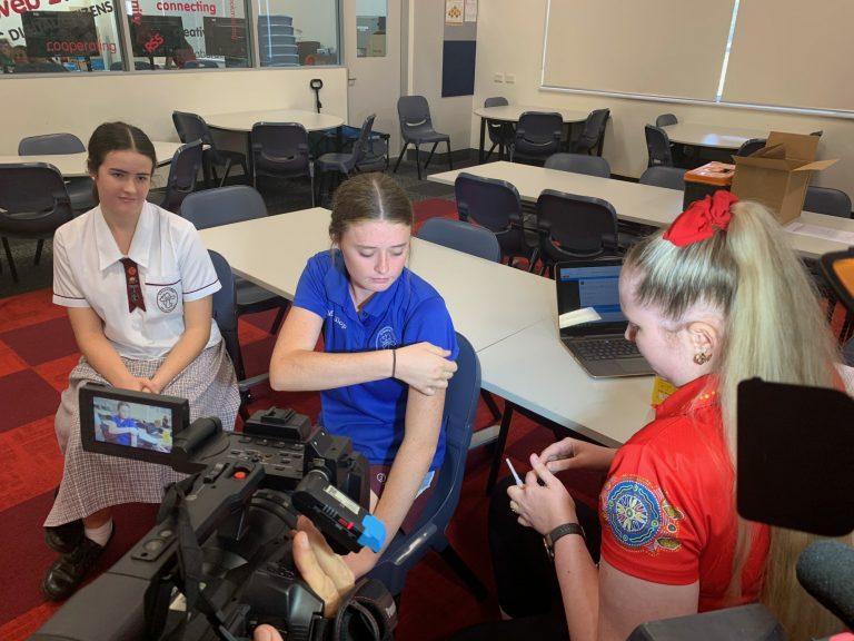 FNQ onsite school Covid vax program begins